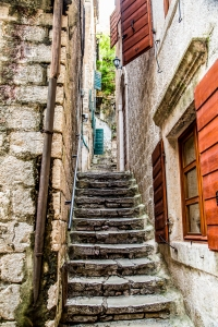 Stairs in Kotor